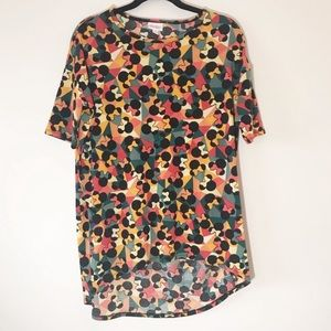 LuLaRoe Disney Irma Minnie Mouse Tee Small Comfy